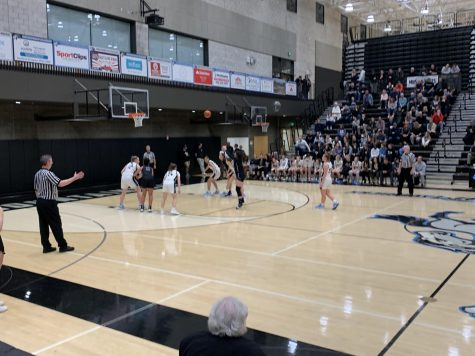 Girls Basketball First Playoff Win