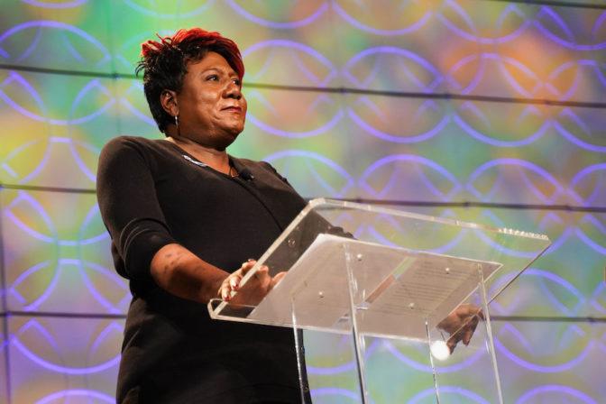 Monica+Roberts%2C+en+una+conferencia+con+National+LGBTQ+Task+Force%2C+el+16+de+enero+2020.