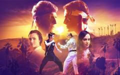 Promotional Poster for Netflix Original, Cobra Kai (Courtesy of Netflix)