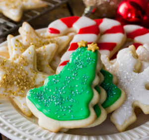 Easy Sugar Cookies & Sugar Cookie Frosting